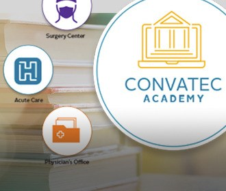 ConvaTec Academy Homepage Lock up