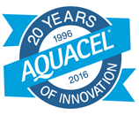 AQUACEL 20 Years Logo (R)