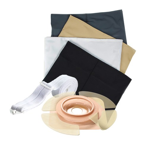 ostomy accessories added pouch security